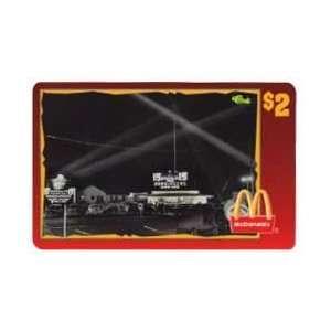 Collectible Phone Card $2. McDonalds 1996 McDonalds At