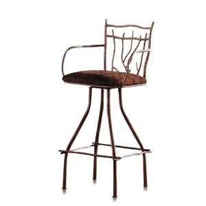 Ambiente A54BS30 SA Handmade Wrought Iron Bar Stool: Home