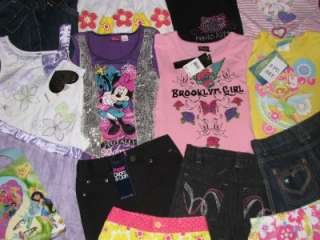 GIRLS SIZE 6 6X CLOTHES LOT XOXO DISNEY HELLO KITTY BROOKLYN GIRL