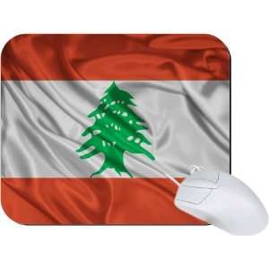 Rikki Knight Lebanon Flag Mouse Pad Mousepad   Ideal Gift