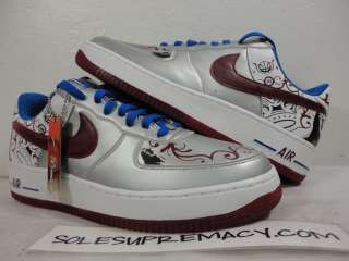 DS Nike Air Force 1 Premium LEBRON COLLECTION ROYALE 9