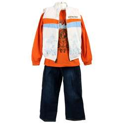 US Polo Boys 3 piece Thermal/ Vest/ Jeans Set  Overstock