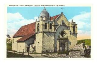 San Carlos Mission, Carmel, California Posters at AllPosters
