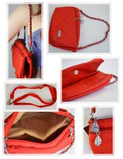 New Fashion Faux Leather Womens Shoulder Handbags Bag Satchel Tote Red