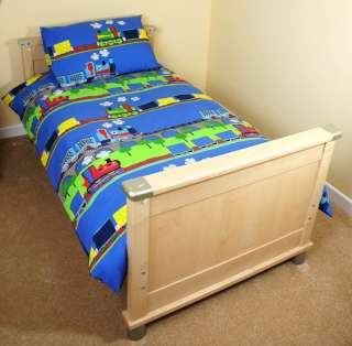 Boys Bedding Trains & Tank Engine Duvet Set or Curtains |