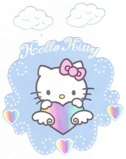 HELLO KITTY ANGEL & CLOUDS WALLPAPER BORDER CHARACTER CUT OUTS