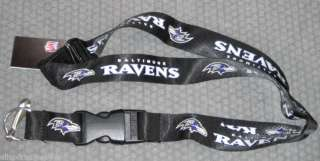 NFL NWT KEYCHAIN LANYARD  BALTIMORE RAVENS 763264971492