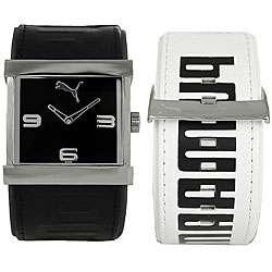 Puma Swap Womens Black/ White Strap Watch