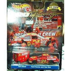 1997   Mattel / NASCAR   Team Hot Wheels   Pro Racing   Pit Crew 1998