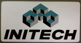 INITECH logo decal sticker Office Space