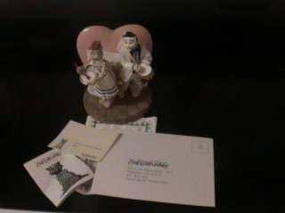 LOVE LUCY LUCILLE BALL & RICKY RICATTO ERTL COLLECTIBLES CAT