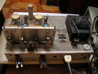 VINTAGE PHILIPS AG 9015 AG9015 2 x 12 W OTL STEREO TUBE AMP, WORKS
