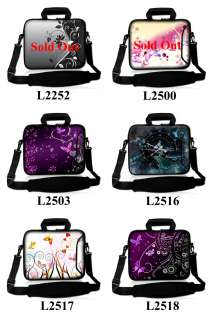 17.3 Neoprene Laptop Carrying Bag with Extra Side Pocket Sleeve Case