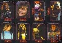 ROBERT PLANT Mega Metal Trading Card Set (Led Zeppelin)