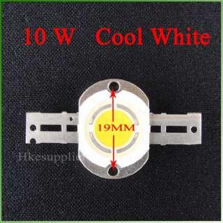 10W Cool White Energy Saving High Power LED Bulb NewDIY
