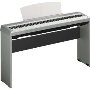 Yamaha P95S 88 Key Silver Digital Piano with PA150 adapt