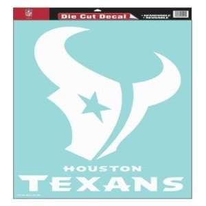 Houston Texans NFL Die Cut Decal