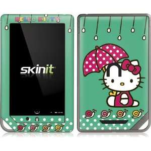 Skinit Hello Kitty Polka Dot Umbrella Vinyl Skin for Nook