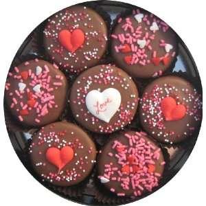 Olde Naples Chocolate Valentines Day Love Milk Chocolate Oreo Cookie