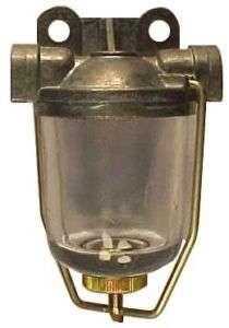 Fuel Filter Petrol / Diesel / Bio / Veg Oil / WVO Glass