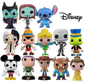 Disney Collector POP Vinyl Figure 3.75 Stylized Character Series 1