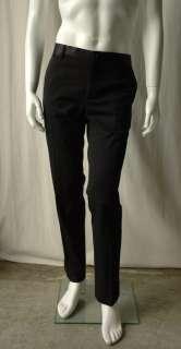 DOLCE & GABBANA Mens Black Tuxedo Stripe Pants 48 34 W