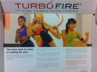 TURBO FIRE COMPLETE 15 DVD WORKOUT SYSTEM WITH Chalene Johnson
