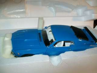 1970 Ford Mustang Boss 429   Franklin Mint   ERROR CAR