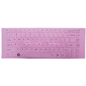 Pink Keyboard Cover/Skin Protector for Sony VAIO VGN NW