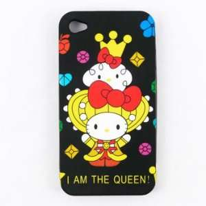 Hello Kitty iPhone 4 Case Queen Toys & Games