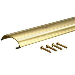 72 Inch TH008 Low Dome Top Threshold, Brite Dip Gold Home Improvement