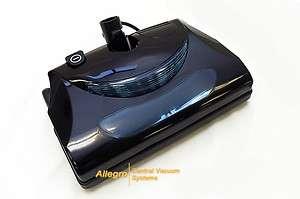 Black Central Vacuum Electric Power head Nozzle Vac Brush