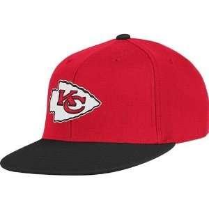 Kansas City Chiefs 2 Tone Flex Fit Flat Bill Hat  Sports