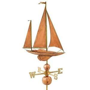 Good Directions 9907P Large Sailboat Weathervane in