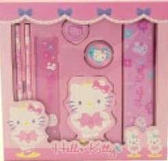 NEW Sanrio Hello Kitty School Pack/Supplies Pink PRIMA