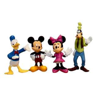 Disney Mickey & Friends Figurines Box Set  Toys & Games Action