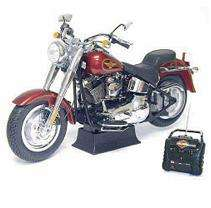 28 R/C Harley Davidson Fat Boy   Red   49MHz