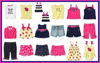GYMBOREE CAPE COD CUTIE BABY GIRLS SUMMER CLOTHES OUTFITS 3 6 9 12 18