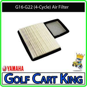 Yamaha Air Filter Element  For G16 G22 1996 Up Gas Golf Carts