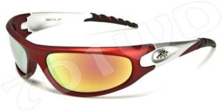 New Mens Xloop Fishing Golf Motorcycle Sports Sunglasses Black Blue
