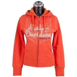 Harley Davidson Woman's Lined Super Soft Hoodie 96078 12vw