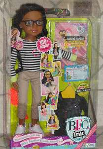 BEST FRINEDS CLUB INK 18 CALISTA DOLL AFRICAN AMERICAN