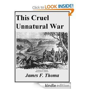 This Cruel Unnatural war The American Civil War in Cooper County