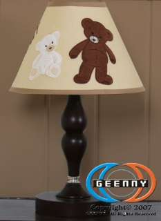 Lamp Shade for Baby Teddy Bear Bedding Set GEENNY 813026010645