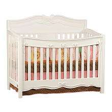 Disney Princess Enchanted Convertible Crib   White   Delta   BabiesR