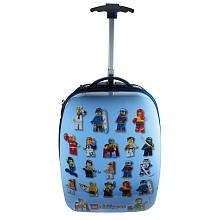 LEGO MiniFigures Hard Shell Rolling Luggage Case   Accessory