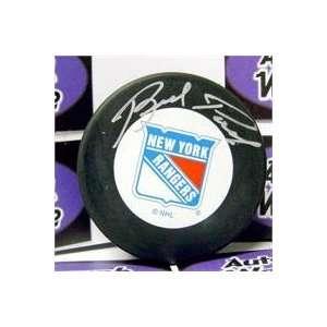 Brad Park autographed New York Rangers Hockey Puck  Sports
