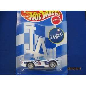 Hot Wheels Los Angeles Dodgers Dodge Viper RT/10 Toys & Games