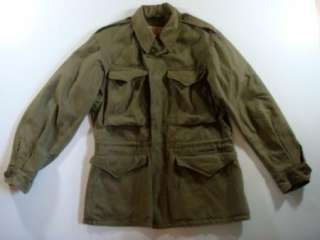 World War II Army 1943 Field Jacket 34R