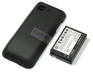 Extended Battery+ Door Cover For Phone HTC T Mobile G1 Dream Google G1